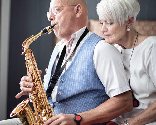 Téléassistance couple senior