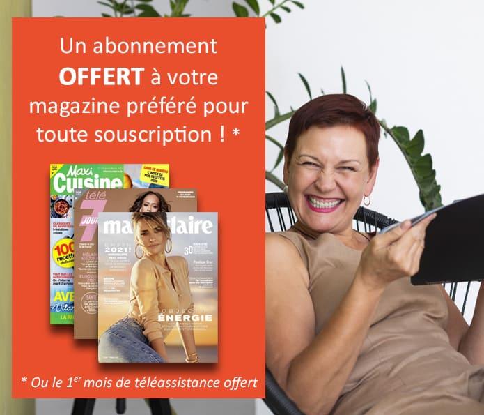 Abonnement magazine offert