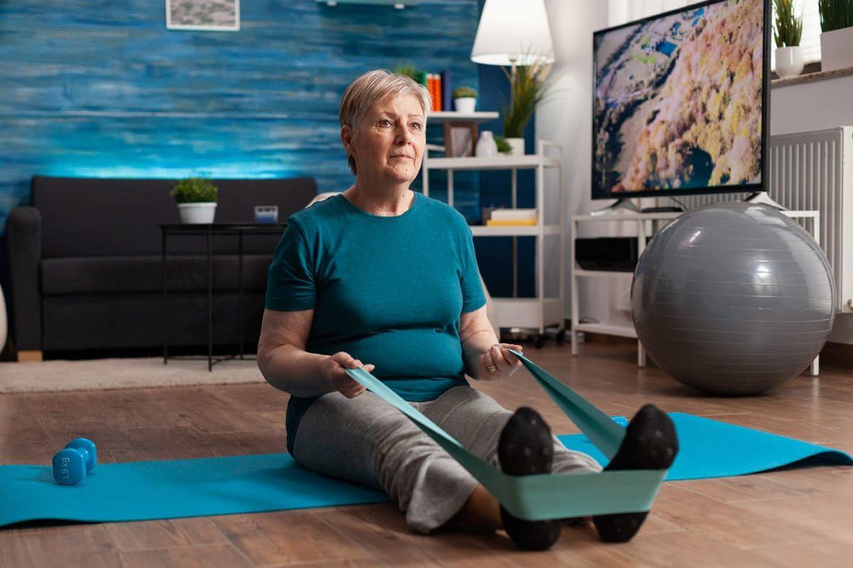 Le renforcement musculaire chez les seniors